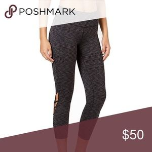 Ideology Womens Fitness Workout Athletic Leggings